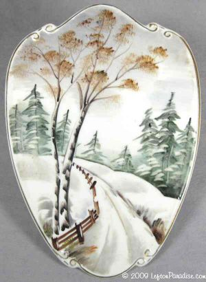 Four Seasons Wall Plaque, Winter - 4927
