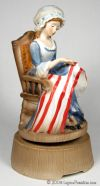 Betsy Ross Musical Figurine - 030