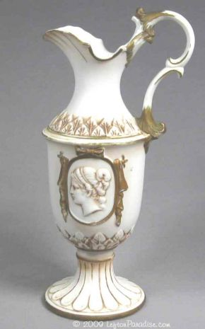 Grecian Styled Vase with Cameo - KW1875
