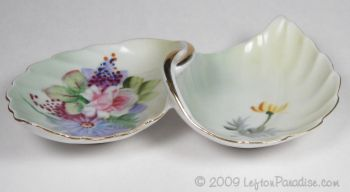 Floral Mood Dish, Pale Green - 4674