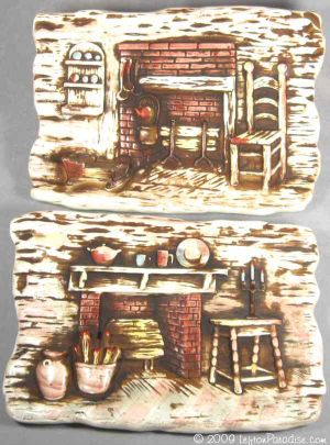 Kitchen Hearth Wall Plaques - 1218
