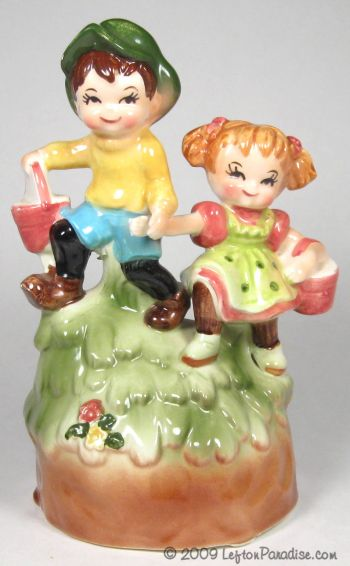 Jack and Jill Musical Figurine