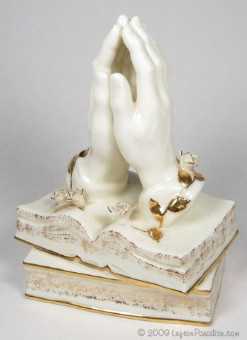 Praying Hands Musical Figurine - 11116
