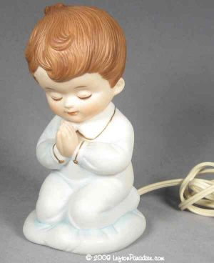 Little Boy's Prayer Nightlight - 6625