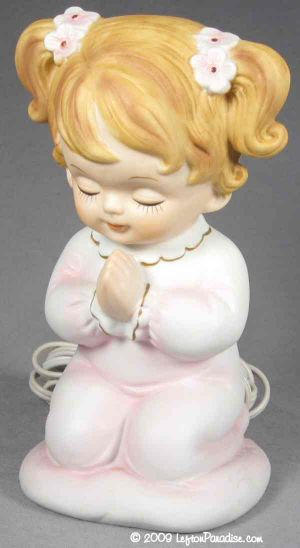Little Girl in Prayer - 6626