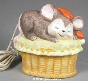 Sleeping Mouse Nightlight - 02078