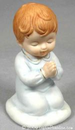 Praying Boy Figurine