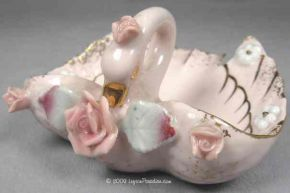 Ashtray, Pink Swan - 139