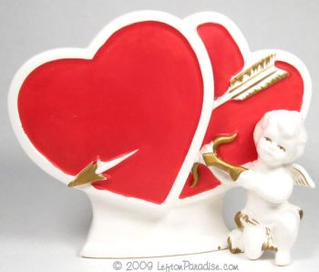 Cupid and Hearts Planter